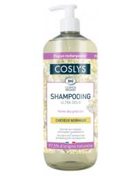 Coslys Shampooing cheveux normaux ultra doux reine des prés d'Auvergne 1 Litre Pharma5avenue
