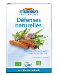 Biofloral Infusion Défenses naturelles 20 sachets 24g thym bourgeons de pin Pharma5avenue