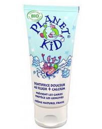 Planet Kid Dentifrice Douceur Fluor et Calcium 50 ml, dentifrice bio, pharma5avenue