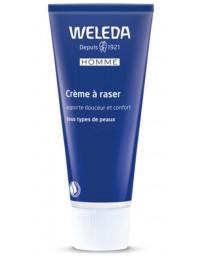 Weleda Crème à raser adoucissante peaux sensibles 75 ml, crème à raser bio Pharma 5 avenue