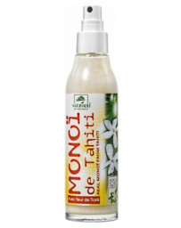 Naturado Véritable Monoi de Tahiti naturel avec sa Fleur de Tiaré 150ml hydratation Pharma5avenue