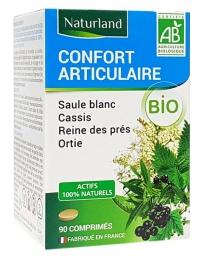 Naturland - Saule Blanc Reine des prés Cassis Ortie Bio - 90 comprimés