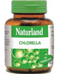 Naturland - Chlorella - Chlorelle - 75 gélules Végécaps