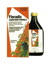 Floradix Liquid Iron Formula 250 ML