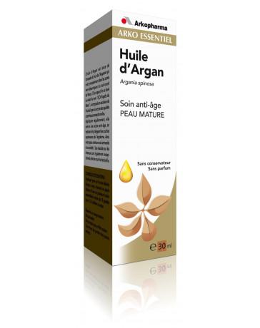 ARKOPHARMA - Huile d'argan pure Soin Anti-âge Peaux Matures - flacon de 30ml pharma5avenue
