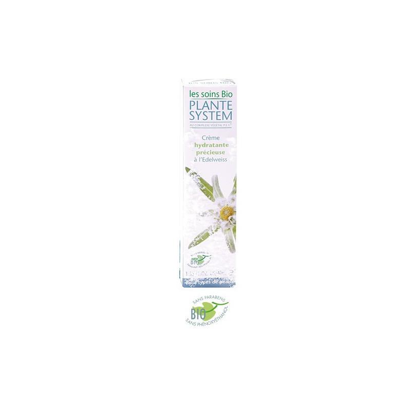 Plante System - Crème Hydratante Précieuse à L'Edelweiss - Les Soins Bio