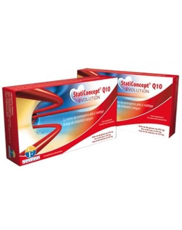 Fenioux - Staticoncept® Q10 Evolution - Lot de 2 boîtes de 60 gélules - Promo levure de riz rouge policosanol cholesterol