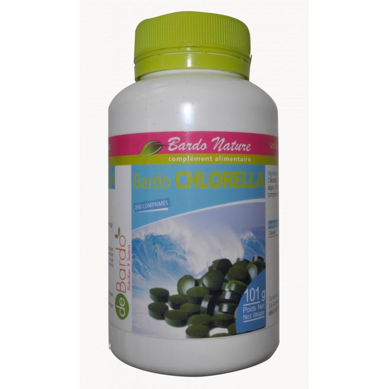 De Bardo Chlorella 200 comprimés