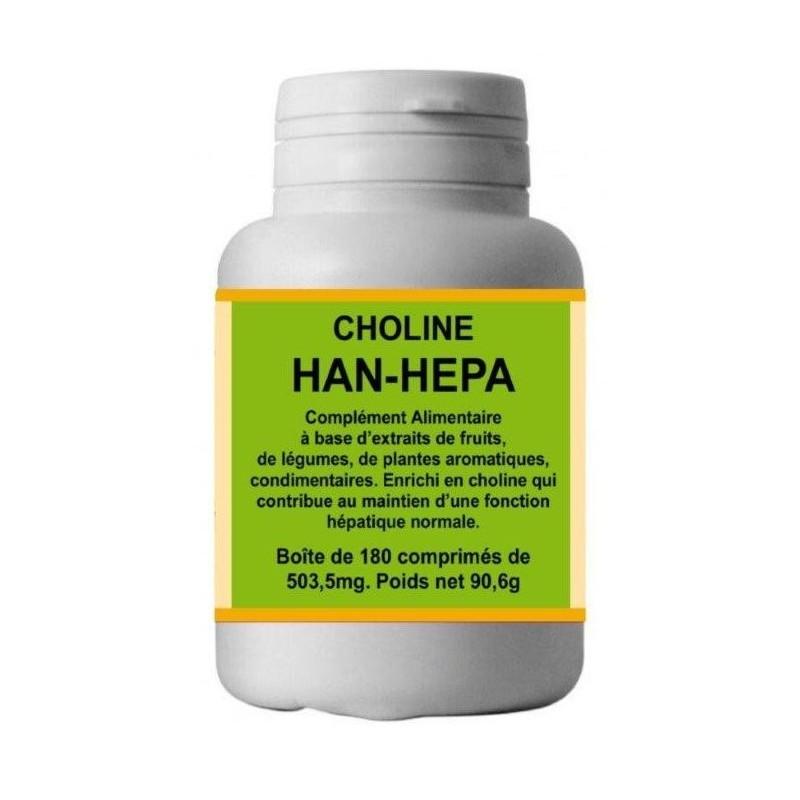 Han Hepa - Choline - 180 comprimés - Han Biotech