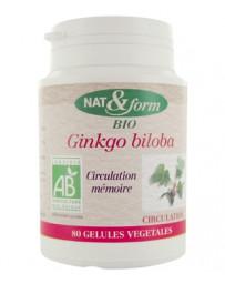 Ginkgo Biloba 80 gélules 200mg Nat et Form