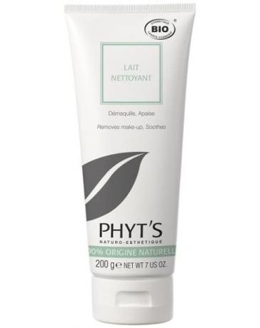Lait nettoyant démaquillant et apaisant 200g Phyt's - soin bio pour le visage Pharma5avenue