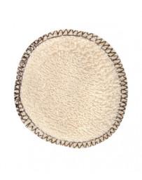 Lulu Nature Lot 12 lingettes à démaquiller en coton biologique