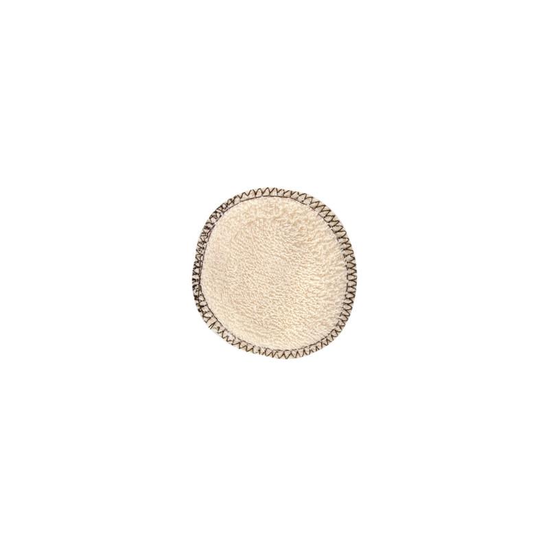 Lot 12 lingettes à démaquiller en coton biologique 12 unités Lulu Nature - produit de nettoyage pour le visage