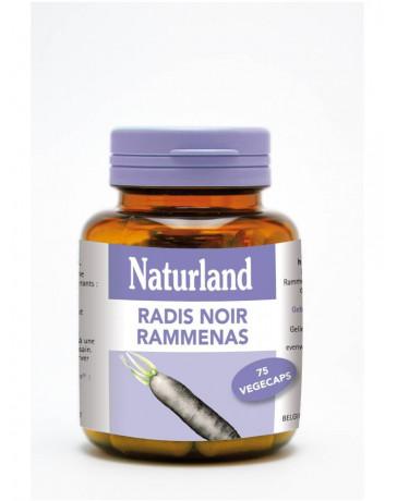 Naturland - Radis noir - 75 Végécaps