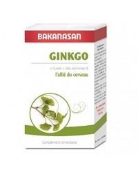 Bakanasan Ginkgo + Cuivre 60 comprimés