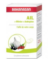 Bakanasan Ail Olivier Aubépine 72 capsules