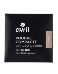 Avril Beauté Poudre compacte Nude Naturel 7 gr maquillage bio Pharma 5 avenue