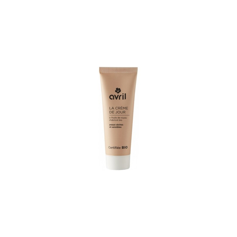 Avril Beauté Crème de jour peau sèche et sensible Huile de Noyau d'Abricot 50 ml