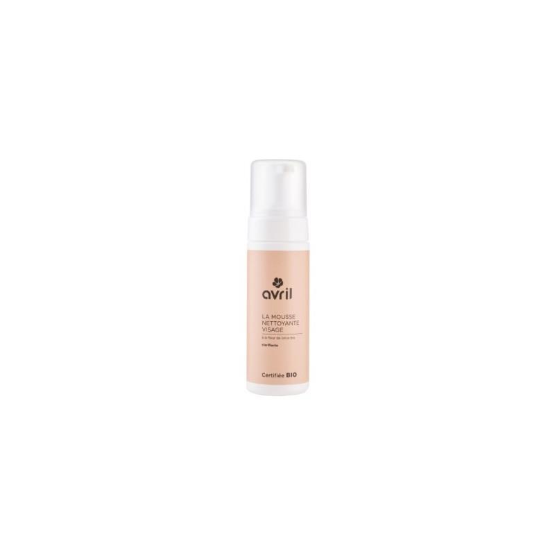 Avril Beauté Mousse nettoyante démaquillante visage 150 ml maquillage bio Pharma 5 avenue