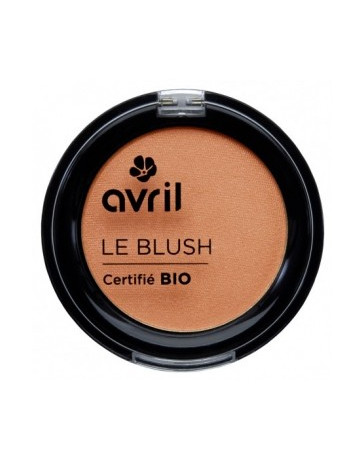 Avril Beauté Blush pêche rosé 2.5g maquillage bio Pharma 5 avenue