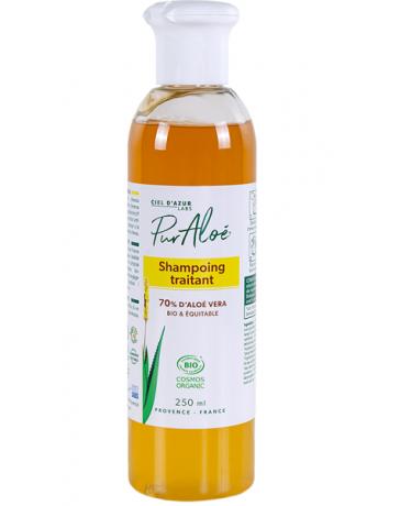Puraloe Shampoing traitant à l'Aloe Vera 250ml shampooing bio Pharma5avenue