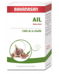 Bakanasan Ail Extra Fort 96 capsules vitalité et protection cardio vasculaire