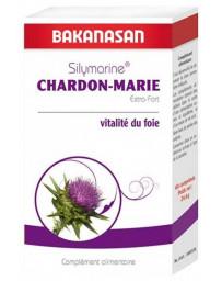 Bakanasan Silymarine Chardon Marie Extra fort 60 comprimés