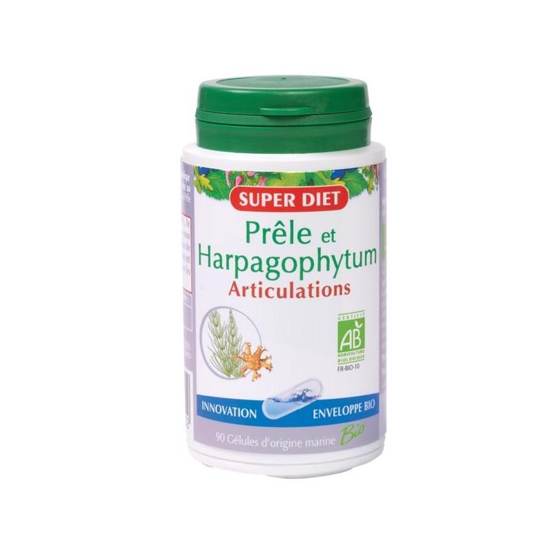Super Diet Prêle et Harpagophytum bio 90 gélules 210mg
