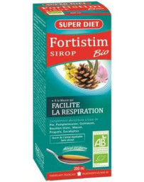 Super Diet Fortistim Sirop Mauve Respiration Bio 200ml