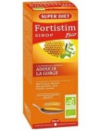 Super Diet Fortistim Sirop Plantain Adoucissant Bio 200ml