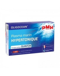 Super Diet PMH Plasma marin hypertonique 20 ampoules de 15 ml