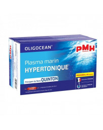 Super Diet PMH Plasma marin hypertonique 2X20 ampoules de 15 ml