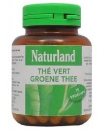 Naturland - Thé vert - 75 Végécaps pharma5avenue