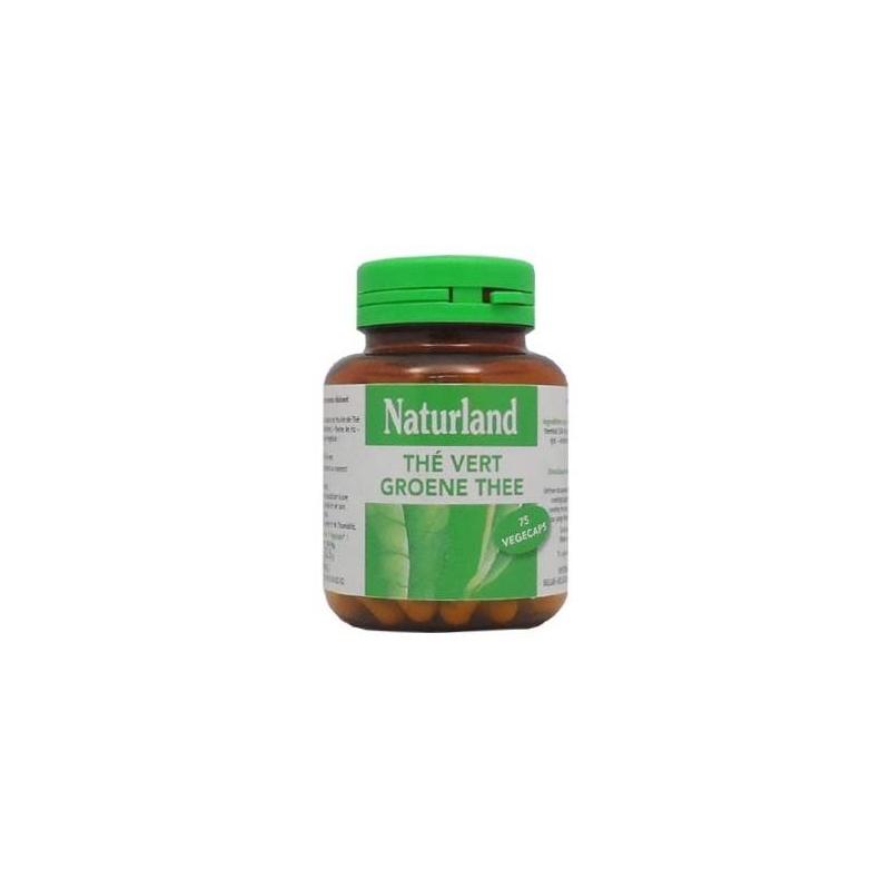Naturland - Thé vert - 75 Gélules Végécaps