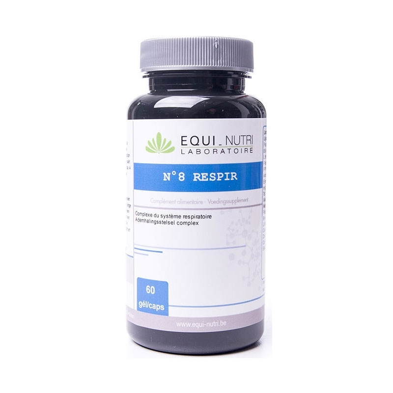 Equi Nutri Respir Complexe 8 - 60 gélules