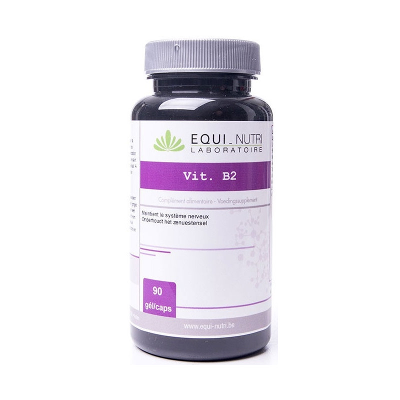 Vitamine B2 riboflavine 90 gélules végétales