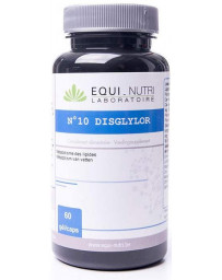 Equi Nutri Disglylor Complexe N10 - 60 gélules végétales