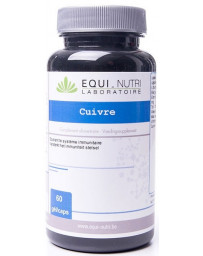 Equi Nutri Cuivre 60 gélules végétales de 5mg