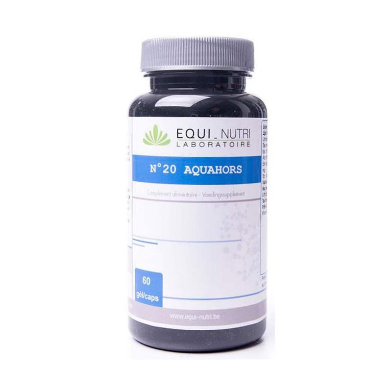 Equi Nutri Aquahors Complexe 20 60 gélules