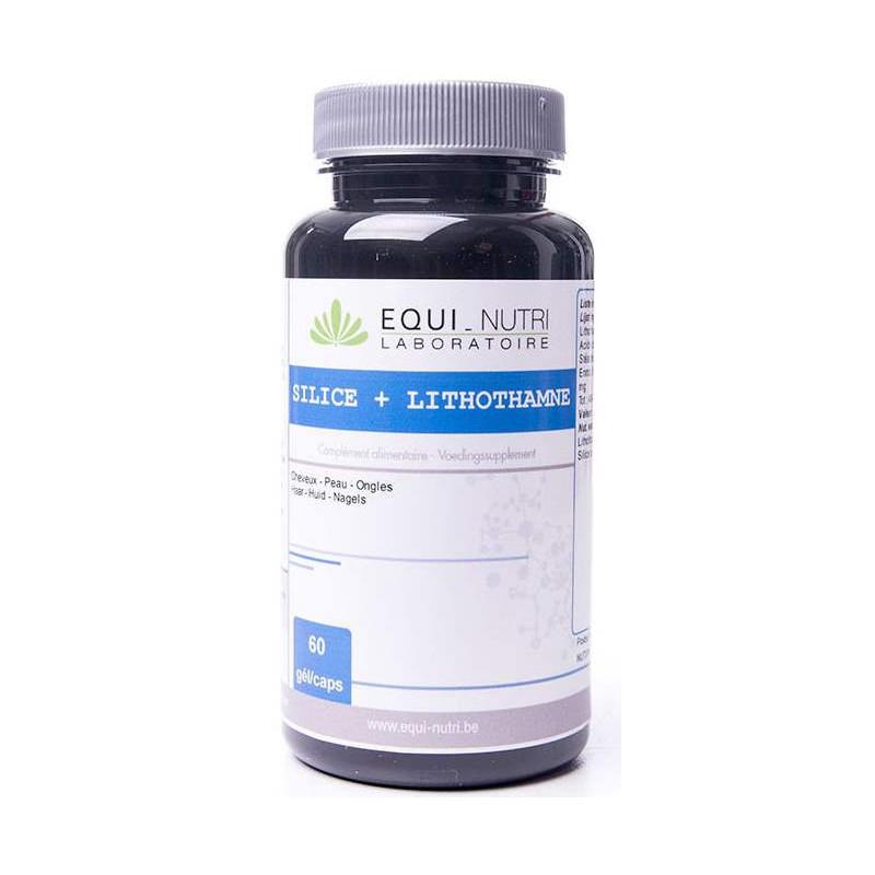 Equi Nutri Silice Lithothamne 60 gélules