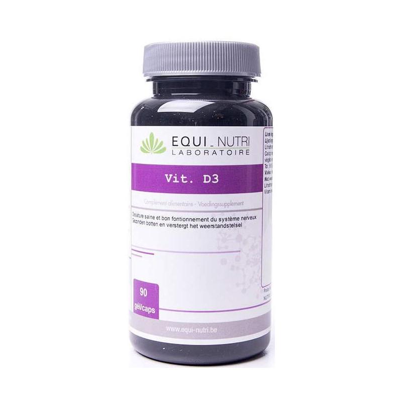 Equi Nutri Vitamine D3 - 90 gélules