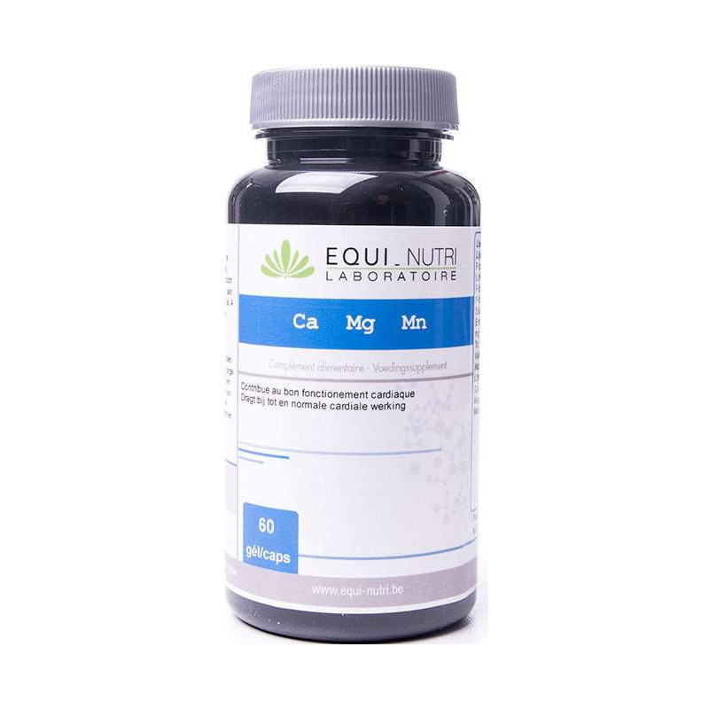 Equi Nutri Calcium Magnesium Manganèse 60 gélules végétales