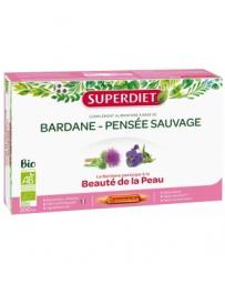 Super Diet Bardane Pensée Sauvage Bio 20 ampoules de 15ml