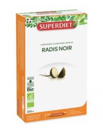 Super Diet Radis noir bio pur jus 20 ampoules de 15ml