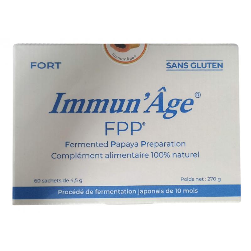 Immun'Age Osato Fort - 60 Sachets de 4,5g de Papaye Fermentée