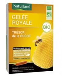 Naturland - Gelée Royale Bio 1500 mg - 20 ampoules - PROMO