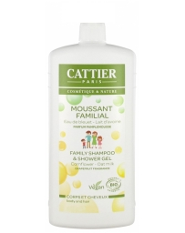Moussant familial lactoserum bio 500 ml Cattier