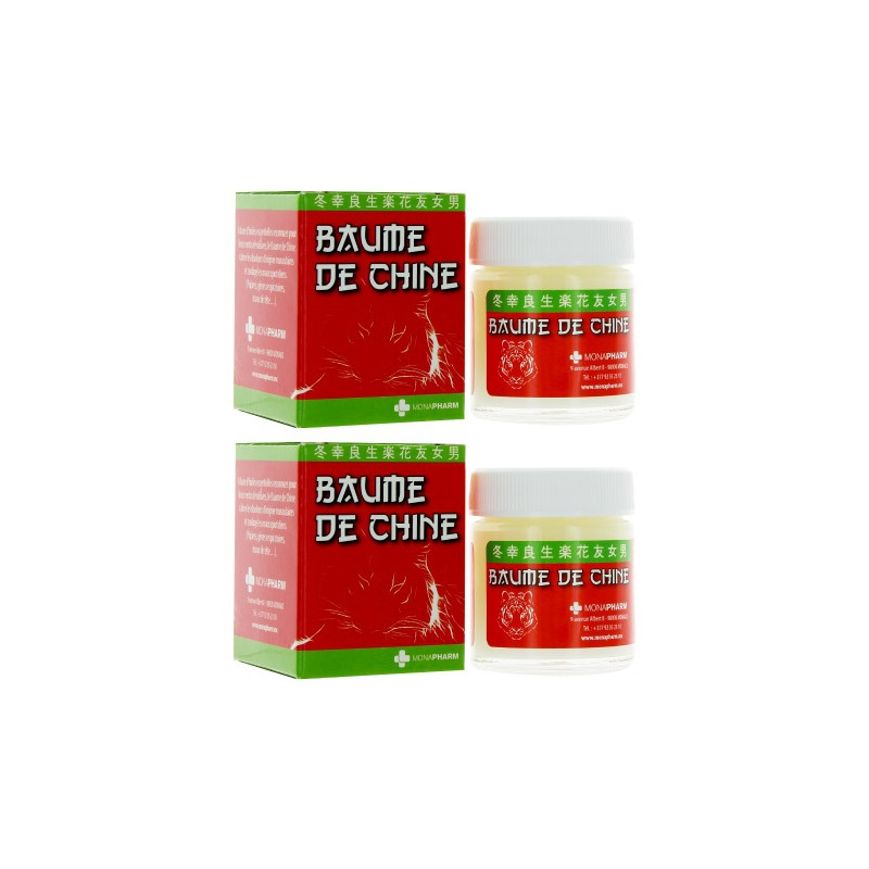 baume de chine - china balm 2 x 30 ml