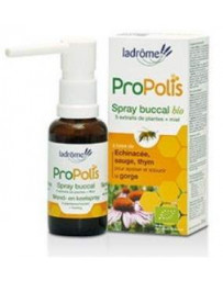 Ladrôme Spray buccal bio Propolis Echinacée Sauge 30 ml