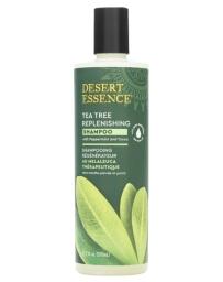 pharma5avenue Shampooing régénérant à l'arbre à thé 382ml Desert Essence - produit d'hygiène capillaire BIO US